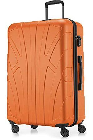 SUITLINE Großer Hartschalen-Koffer Koffer Trolley Rollkoffer XL Reisekoffer, TSA, 76 cm, ca. 86 Liter