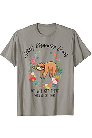 Sloth Running Team Gifts Store Faultier Running Team