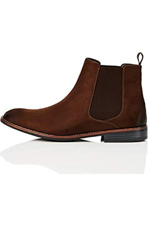 FIND FIND Chelsea Boots, (Chocolate)