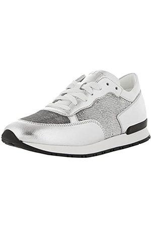 Pollini Damen W.Sneakers Sneaker, (Argent 90b)