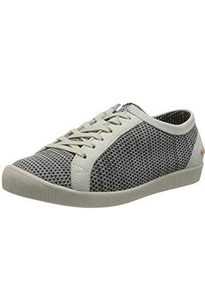 softinos Damen ICA388SOF Sneaker, Mehrfarbig (Grey/White 037)
