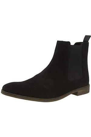 Clarks Herren Stanford Top Chelsea Boots, (Black SDE Black SDE)