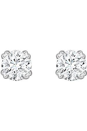 Carissima Gold Damen-Ohrringe 375 9 Karat (375) Weiß Diamant