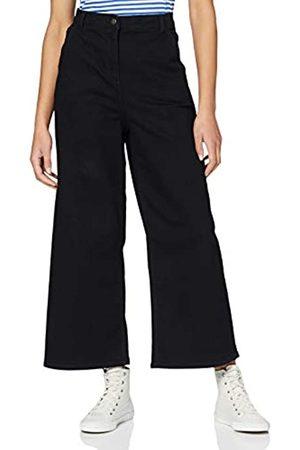 People Tree Damen Rochelle Wide Leg Trousers Flared Jeans