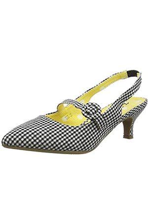Joe Browns Damen Speak Easy Strappy Shoes Mary Jane Schuh, -Weiss
