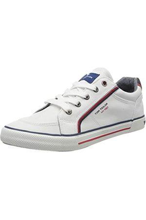 TOM TAILOR Jungen 8072901 Sneaker, (White 00002)