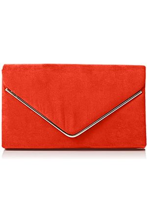 Swankyswans Damen Oscar Envelope Suede Velvet Party Prom Clutch Bag Tasche