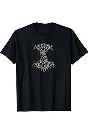 Jimmo Designs Mjölnir Der Hammer Von Thor Nordische Sagen Liebhaber T-Shirt