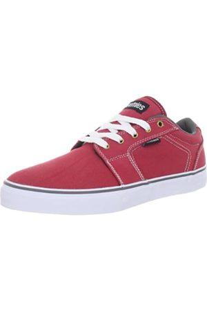 Etnies Herren Barge LS Skateboardschuhe, (RED/White/Grey 623)