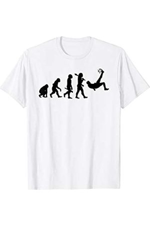 Miftees Bicycle Kick Soccer Evolution tee Soccer Fan T-Shirt