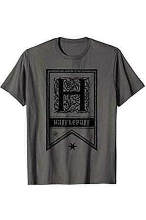 Wizarding World Harry Potter Hufflepuff Drawn Banner T-Shirt