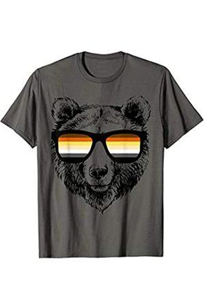 Rainbow Love Pride Apparel Bear Flag Gay Pride LGBTQ Sunglasses Gift T-Shirt