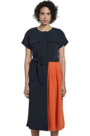 TOM TAILOR mine to five Womens Kontrastfarben Business Casual A series Dress