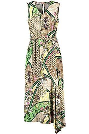 Gerry Weber Damen Kleid Mit Asymmetrischem Saum Figurumspielend