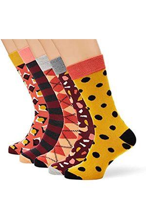 HS by Happy Socks Herren Hs Stone 5-Pack Socken