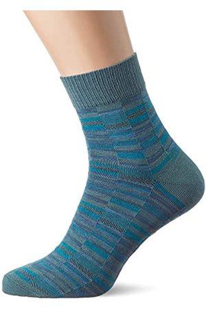 Falke Herren Socken Blocky Rug, Baumwollmischung, 1 Paar