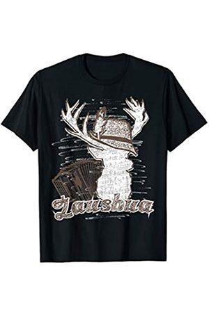 Trachten Shirt Hirsch Geschenk Geburtstag Trachten Shirt Lausbua mit Hirsch und Steirischer