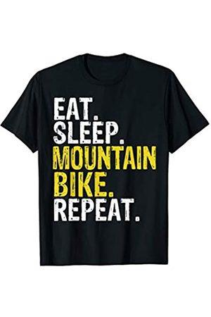 Eat Sleep Mountain Bike Repeat Tee Co. Eat Sleep Mountain Bike Repeat Gift T-Shirt