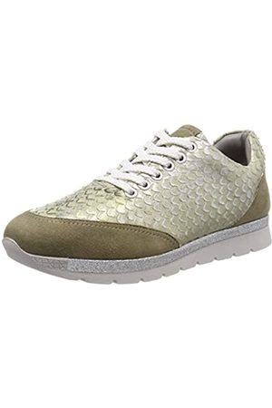 Marc Damen Liv Sneaker, (Suede-Pittone Metallic Green 00770)