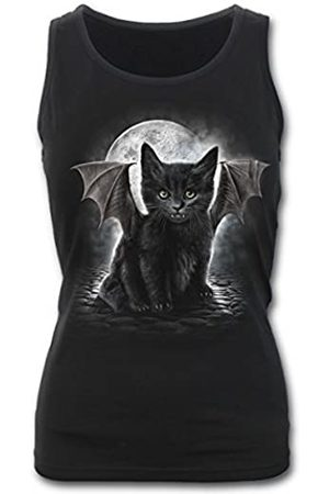 Spiral Damen Bat Cat-Razor Back Top