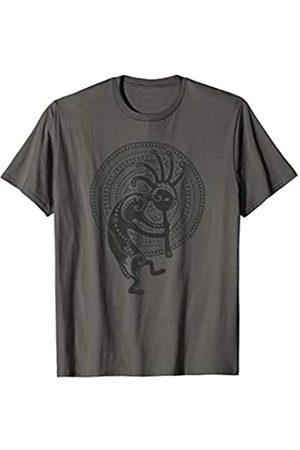EDDArt KOKOPELLI folklore MANDALA - Solid Black - Culture Fan Fun T-Shirt