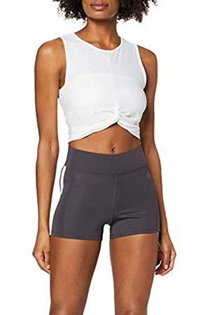 AURIQUE Amazon-Marke: Damen Sportshorts mit Seitenstreifen, 42