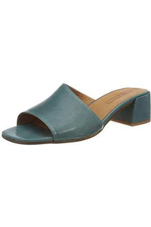 Ten Points Damen 479020 Peeptoe Sandalen, (Aqua 733)