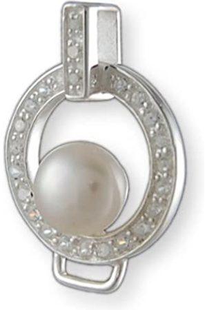 Melina Damen-Charm Basisanhänger Zirkonia 925 Sterling Silber 1800652