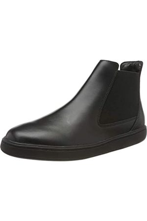 Clarks Jungen Street Edge Y Chelsea Boots, (Black Leather)