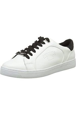 TOM TAILOR Damen 9692602 Low-top, -Blanc (Blanc/Noir)