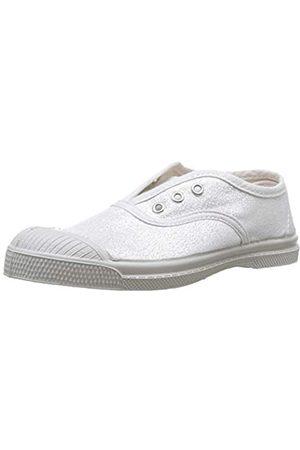 Bensimon Unisex-Kinder Ten Elly Shiny Sneaker, (Argent 0804)