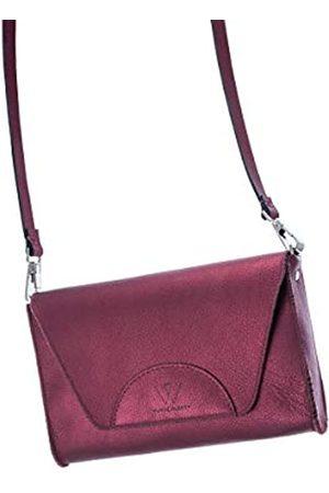 Wunschleder Damenhandtasche Gürteltasche Metallic, 100% Leder, verschiedene Tragevarianten
