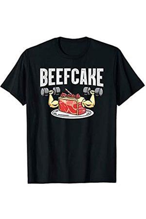 Gym Lover Fitness Übung Gewichtheben Geschenk Funny Beefcake Gym Workout Bekleidung Fitness Workout T-Shirt