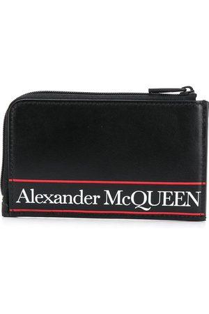Alexander McQueen Portemonnaie mit Logo-Print