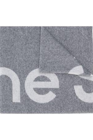 Acne Studios Jacquard-Schal mit Logo