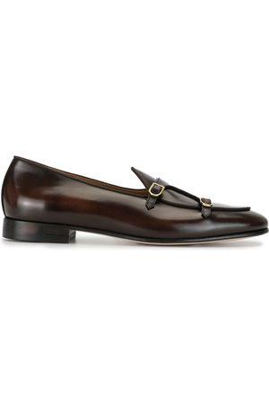 Edhen Milano Monk-Schuhe mit doppeltem Riemen