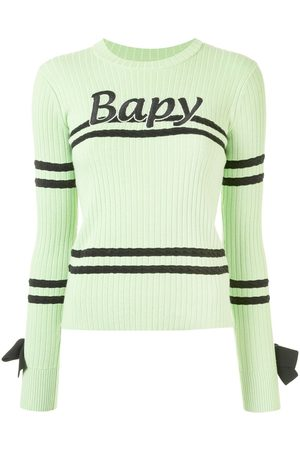 BAPY BY *A BATHING APE® Damen Strickpullover - Gerippter Pullover