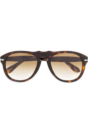 Persol Sonnenbrillen - Runde Sonnenbrille in Schildpattoptik