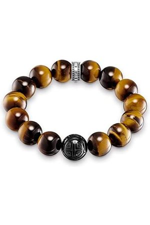 Thomas Sabo Herren-Armband Power Bracelet Rebel at Heart 925 Sterling Silber 18 cm A1574-806-2-L18