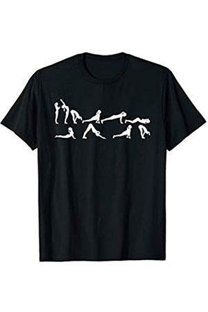 Yoga Geschenke Yoga Sonnengruß T-Shirt