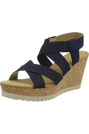 Gabor Shoes Damen Basic' Riemchensandalen, (Bluette 16)