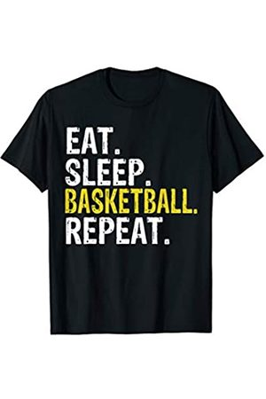 Eat Sleep Basketball Repeat Tee Co. Eat Sleep Basketball Repeat Gift T-Shirt