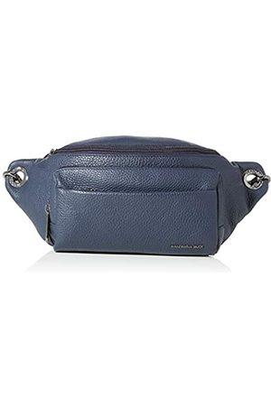 Mandarina Duck Damen Mellow Leather Belt Bag/Nero Kuriertasche