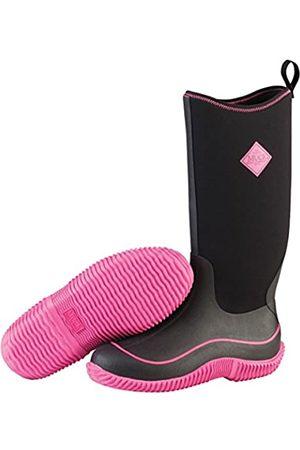 Muck Hale, Damen Stiefel, (Black/Hot Pink)