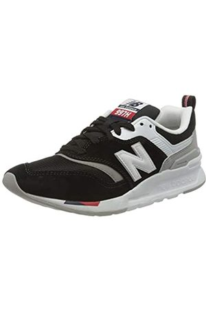 New Balance Damen 997h Sneaker, (Black/Red Hae)
