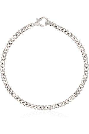 Shay 18kt Weißgoldarmband mit Diamanten-Pavé