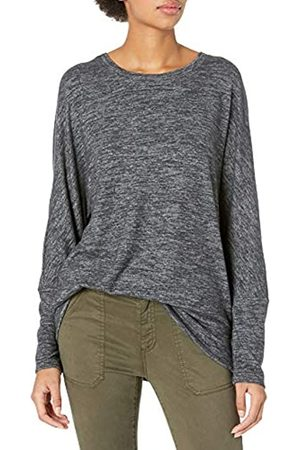 Daily Ritual Cozy Knit Dolman Cuff Sweatshirt Athletic-Shirts
