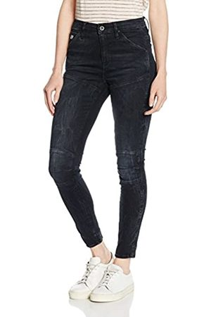 G-Star Damen 5620 Elwood Ultra High Waist Super Skinny Jeans
