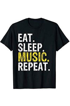 Eat Sleep Music Repeat Tee Co. Eat Sleep Music Repeat Gift T-Shirt