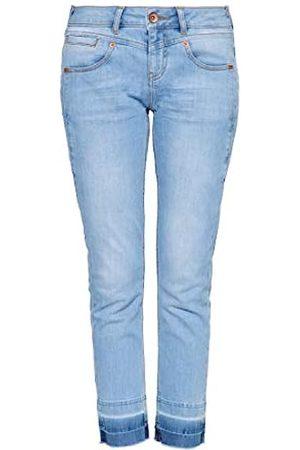 ATT Damen 5 Pocket Jeans | Damenhose | Slim Fit | Stone Wash | Offene Saumkanten Zoe